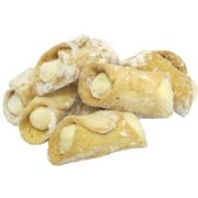 Pistachio Cannoli (Italian Pastries filled with Pistachio Cream)